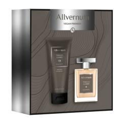 Allvernum Men Zestaw prezentowy Tobacco & Amber woda perfumowana 100ml i żel pod prysznic 200ml