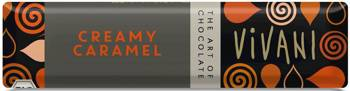 Baton z nadzieniem karmelowym BIO 40 g