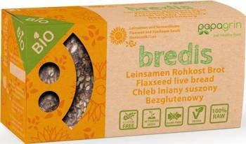 Chleb lniany suszony z słonecznikiem i lnem bezglutenowy BIO 70 g