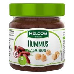 Hummus z daktylami bez dodatku cukru Helcom, 200g