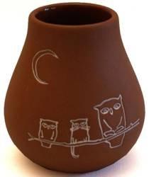 Matero gliniane fortaleza (naczynie do yerba mate) 330 ml