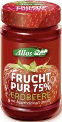 Mus truskawkowy (75 % owoców) BIO 250 g