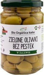 Oliwki zielone bez pestek w zalewie BIO 280 g (160 g) (słoik)