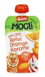 Przecier jabłkowy z sokiem pomarańczowym i marchwią bez dodatku cukrów demeter BIO 100 g