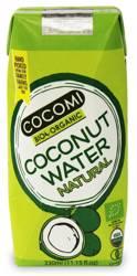 Woda kokosowa naturalna BIO 330 ml