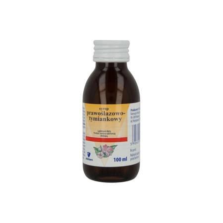 Aflofarm syrop prawoślazowy Tymianek 100 ml