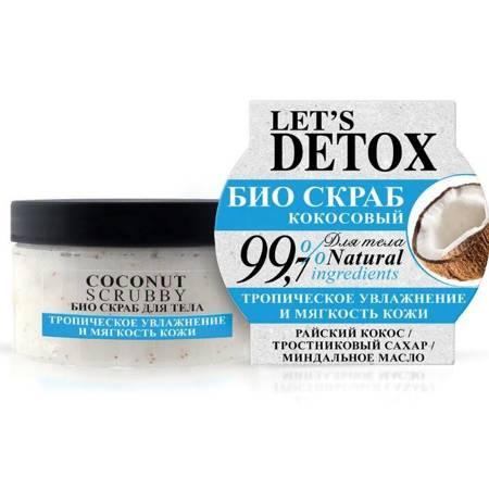 BODY BOOM naturalny kokosowy bio scrub do ciała, 250ml