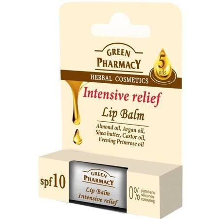Balsam do ust, na bazie 5 olejów i wit. E, intensywnie zmiękczający, SPF 10