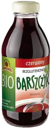 Barszcz czerwony bezglutenowy koncentrat BIO 320 ml