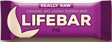 Baton daktylowo - orzechowy z figami raw bezglutenowy BIO 47 g