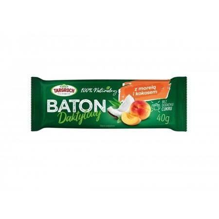 Baton daktylowy z kokosem i morelami 40 g