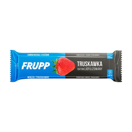 Baton liofilizowany truskawkowy bezglutenowy 10 g