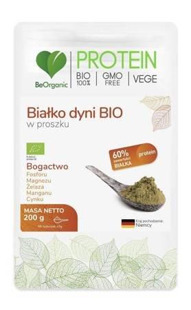 Białko dyni w proszku bezglutenowe BIO 200 g