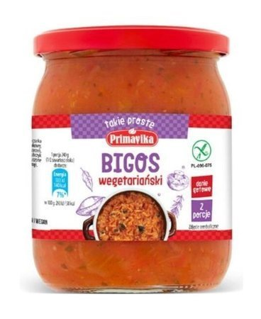 Bigos wegetariański BEZGL.480 g