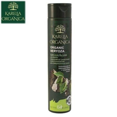 Bio Balsam Do Włosów Organic Brzoza - Intensywne Wzmocnienie I Odbudowa Dla Włosów Zniszczonych 310Ml - Karelia Organica