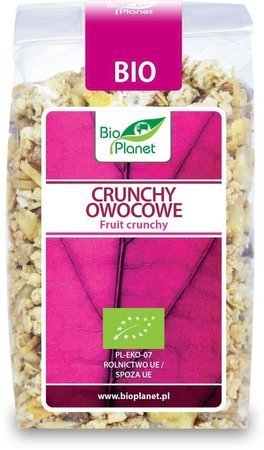 Crunchy owocowe BIO 250 g