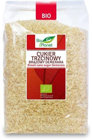 Cukier trzcinowy brązowy demerara BIO 1 kg