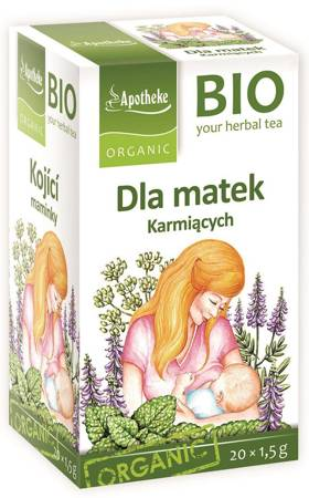 Herbatka dla matek karmiących BIO (20 x 1,5 g) 30 g