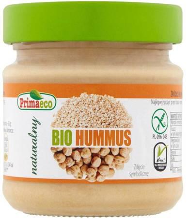Hummus naturalny bezglutenowy BIO 160 g