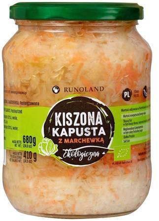 Kapusta kiszona z marchewką BIO 680 g (410 g)