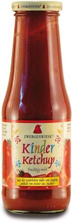 Ketchup dla dzieci bezglutenowy BIO 500 ml