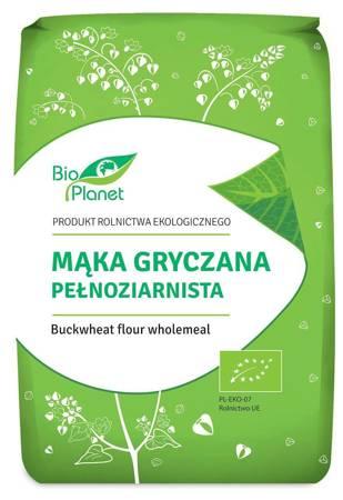 Mąka gryczana pełnoziarnista BIO 1 kg