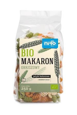 Makaron (orkiszowy kolorowy) jeżyki BIO 250 g