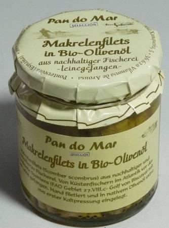 Makrela w BIO oliwie z oliwek 220 g
