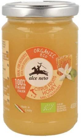 Miód nektarowy z kwiatów cytrusowych BIO 400 g