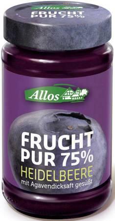 Mus jagodowy (75 % owoców) BIO 250 g