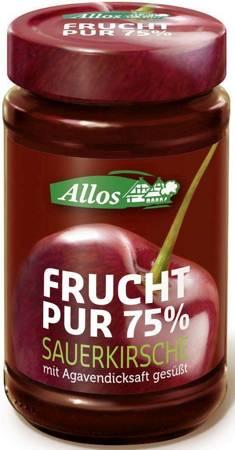 Mus wiśniowy (75 % owoców) BIO 250 g