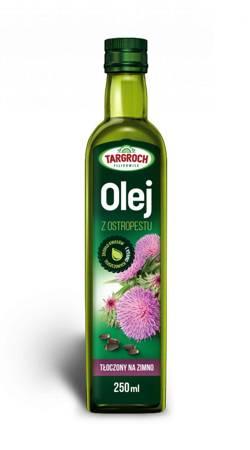 Olej z Ostropestu - Tłoczony Na Zimno 250 ml