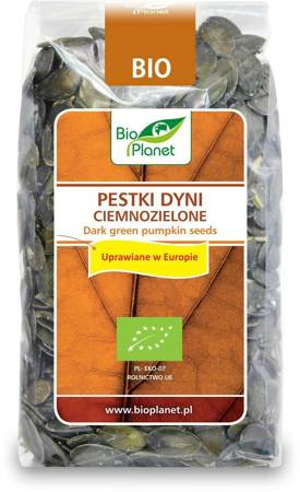 Pestki dyni ciemnozielone (uprawiane w europie) BIO 350 g