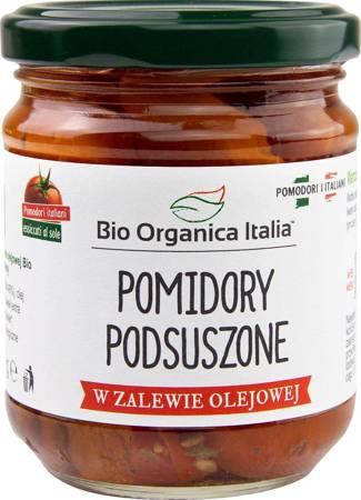 Pomidory podsuszone w zalewie olejowej BIO 190 g (słoik)