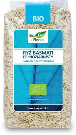 Ryż basmati pełnoziarnisty BIO 500 g